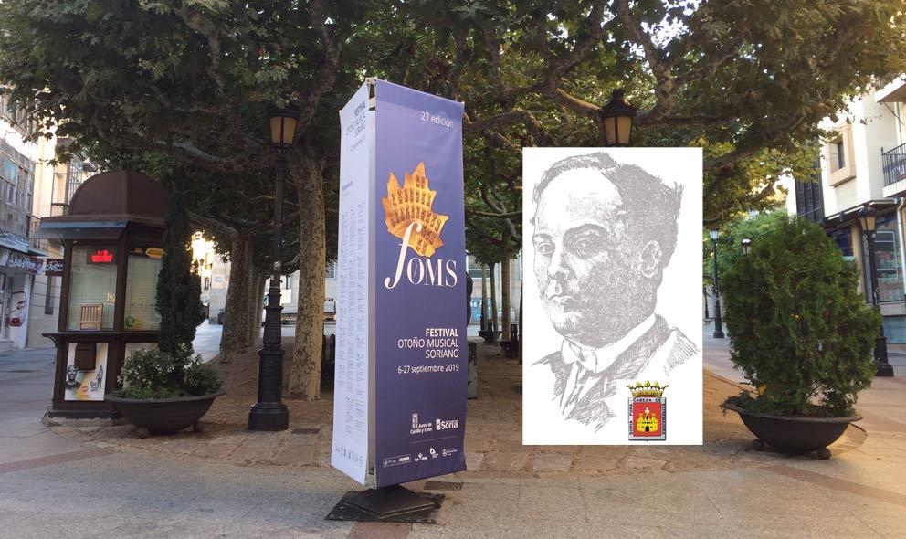Homenaje a Antonio Machado en FOMS 2019